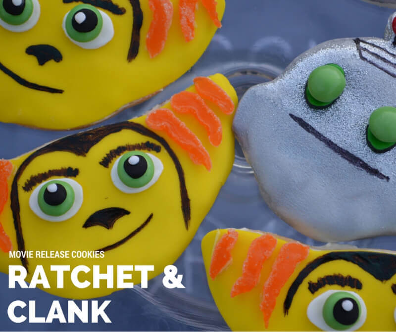Ratchet & Clank cookies!