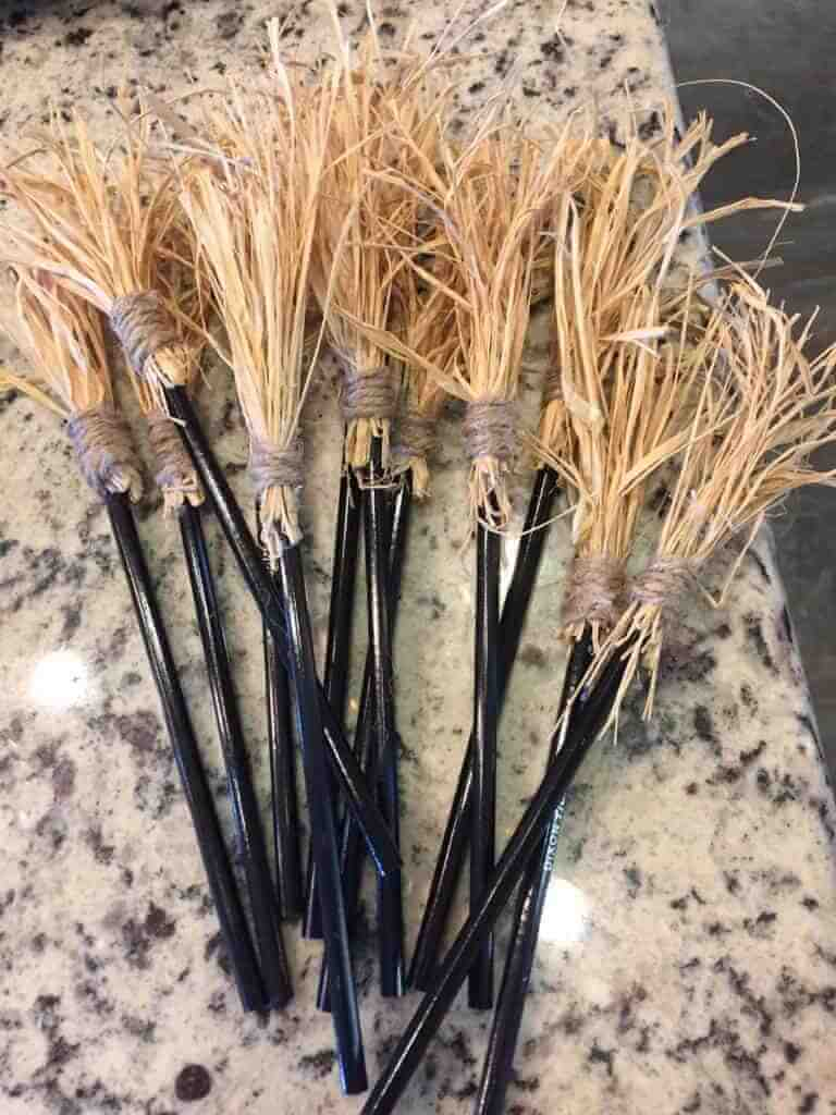 broomstick pencils
