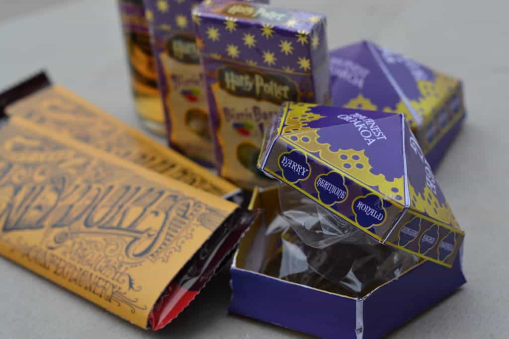 harry potter party chocolates