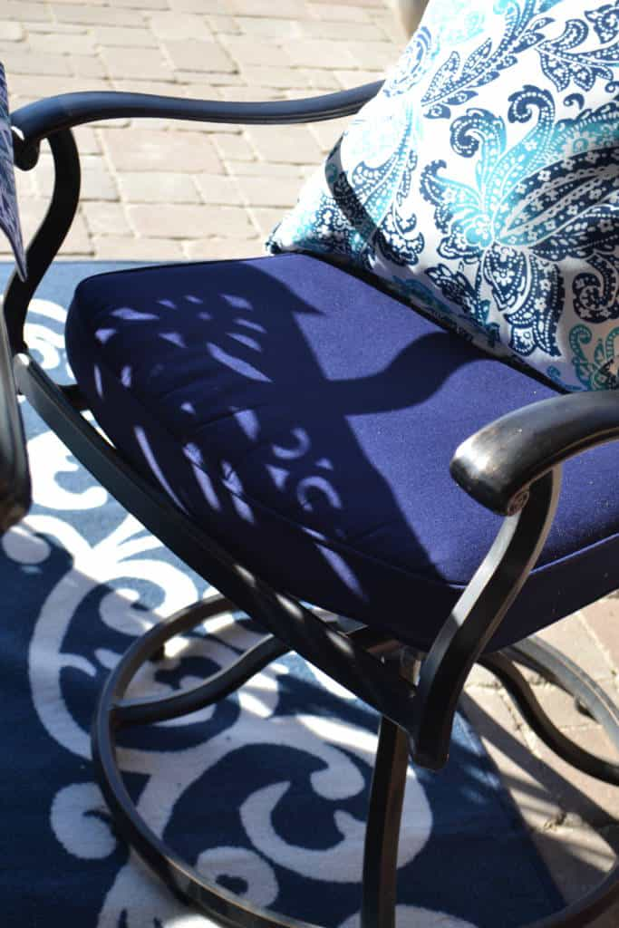 outdoor cushions from at home stores