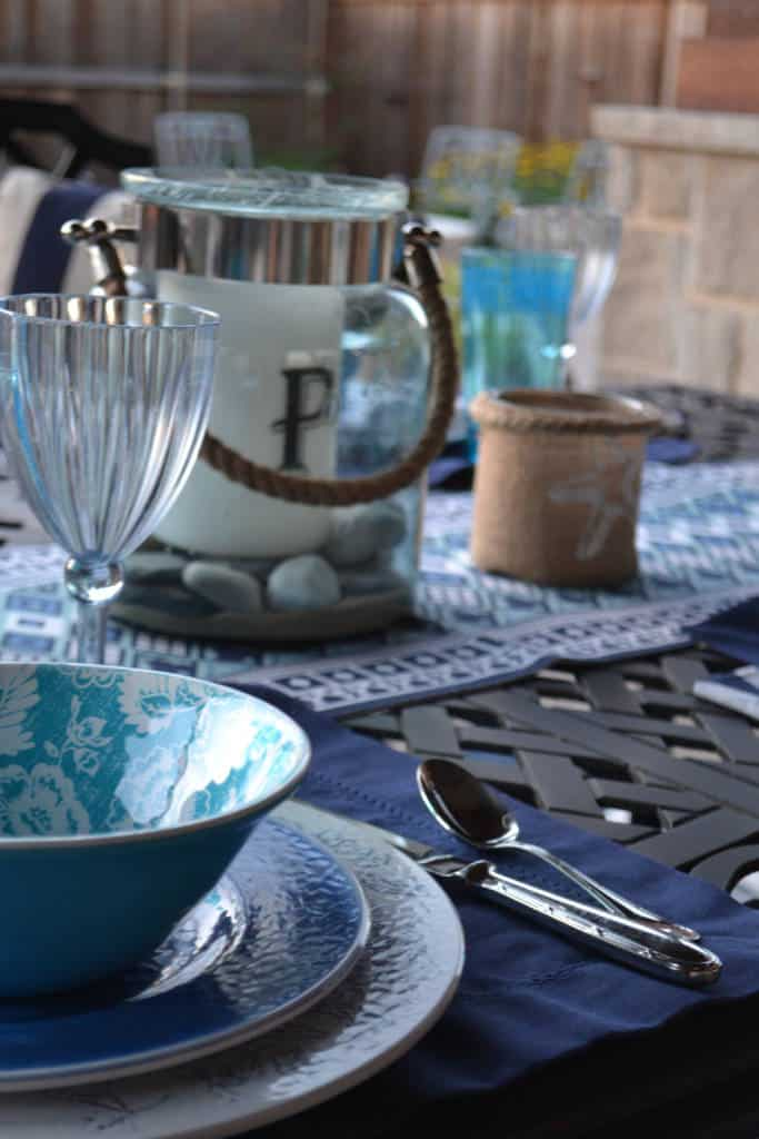 patio entertaining with At Home stores