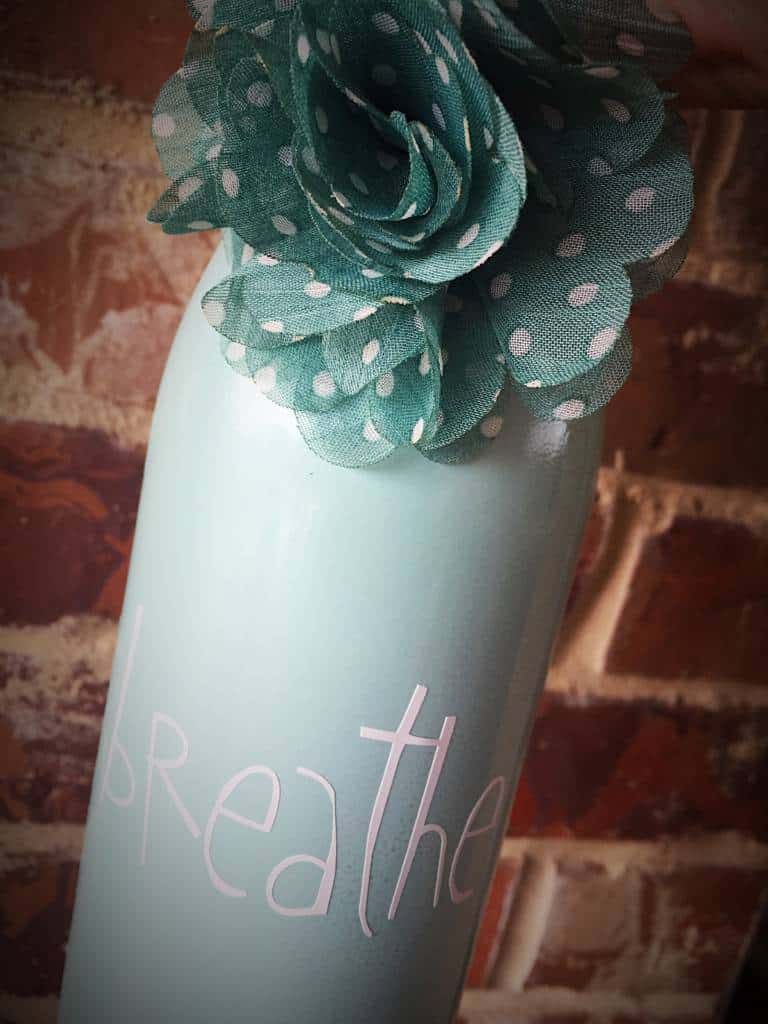 milk glass wine bottle