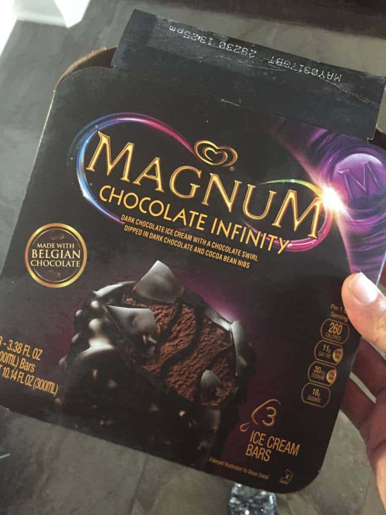 magnum dark chocolate treats