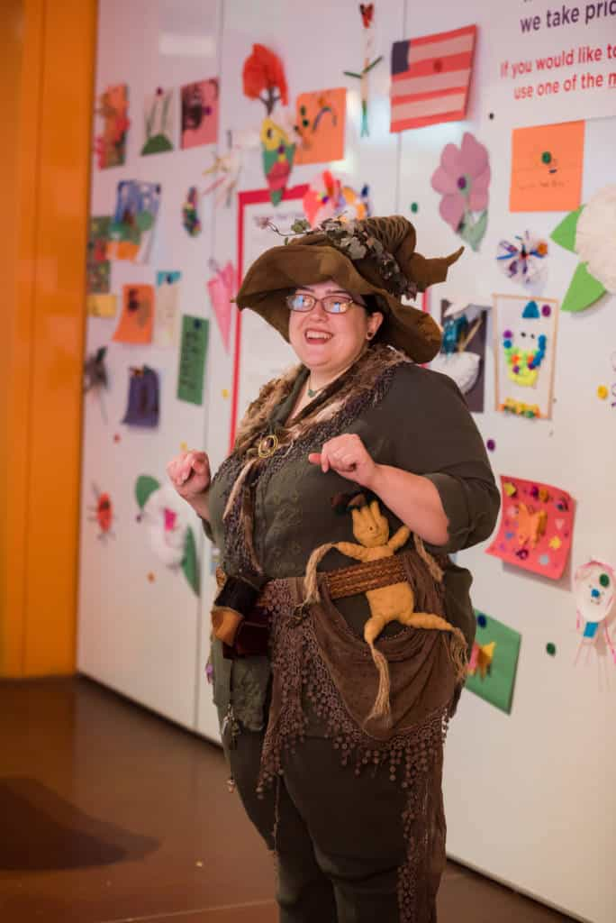 Professor Sprout at Fort Worth Museum of Science & History