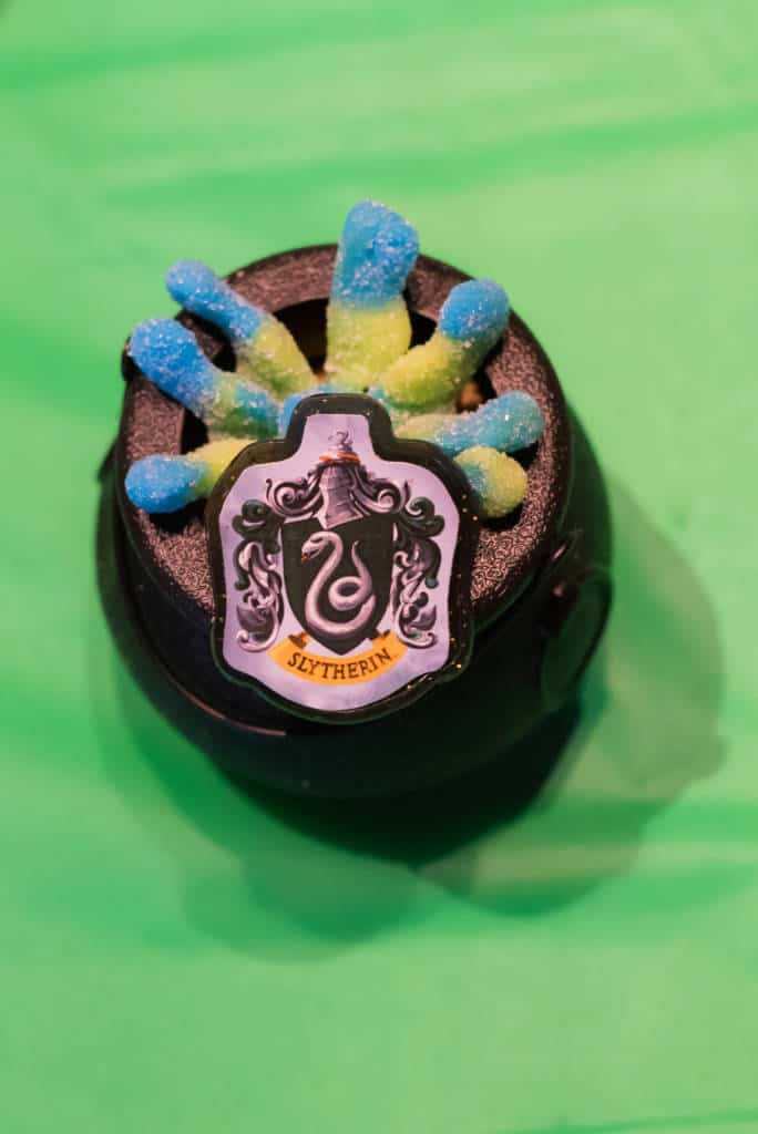 harry potter party cauldron snacks
