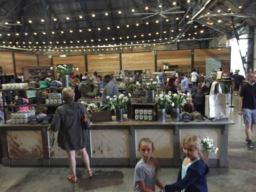 lower level at magnolia market