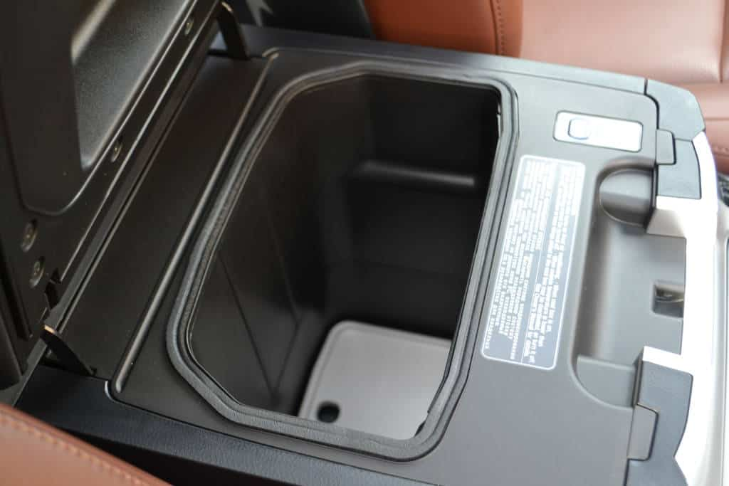 cooler in the toyota land cruiser