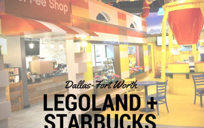 LEGOS + Starbucks = Happy Moms and Dads