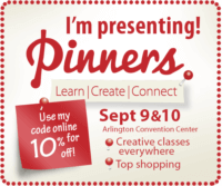 Pinterest in Person – discount code for Pinners Conference