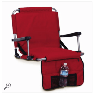 collapsible stadium chair