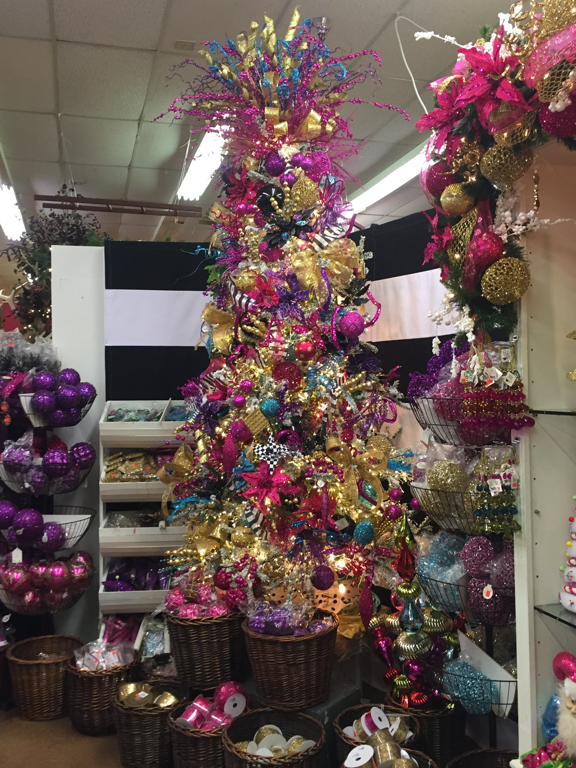 Jewel Toned Christmas As Decorators Warehouse