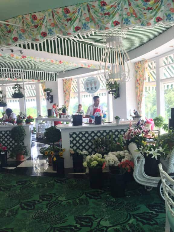 flower shop in the grand hotel