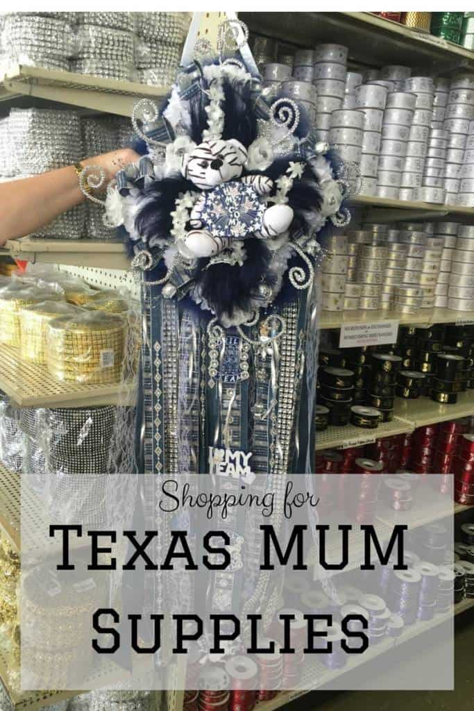 Shopping For Texas Mum Supplies Mommy Upgrade