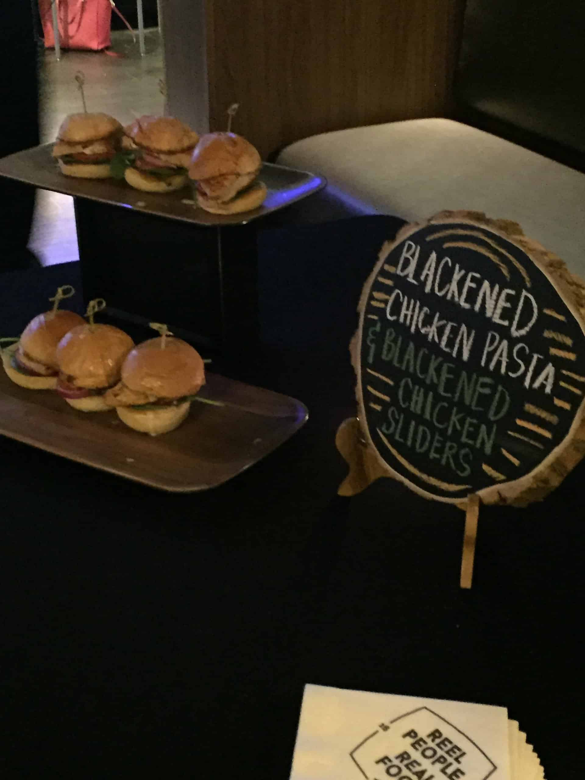 SMG blackened chicken sliders