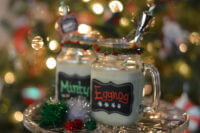Minty Chocolate Eggnog