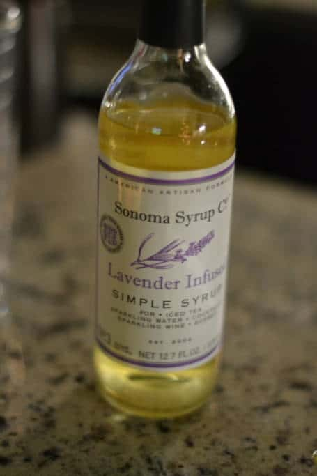 lavender simple syrup