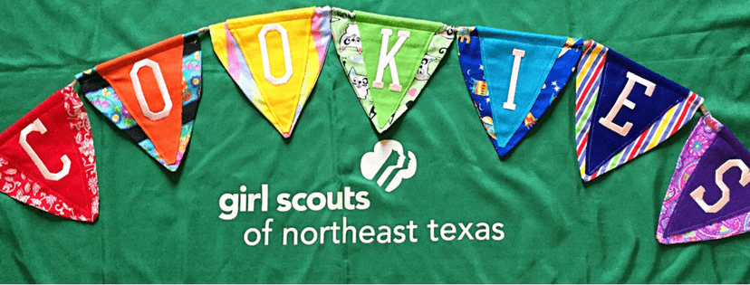 girl scout cookies banner