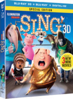 SING Blu-ray Giveaway