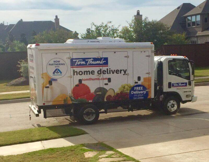 Review of Tom Thumb Grocery Delivery