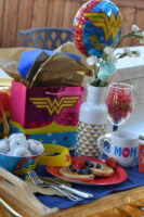 Wonder Woman Breakfast