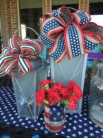 Easy outdoor party lanterns