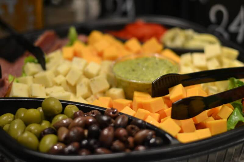 meat and cheese tray from jasons deli catering