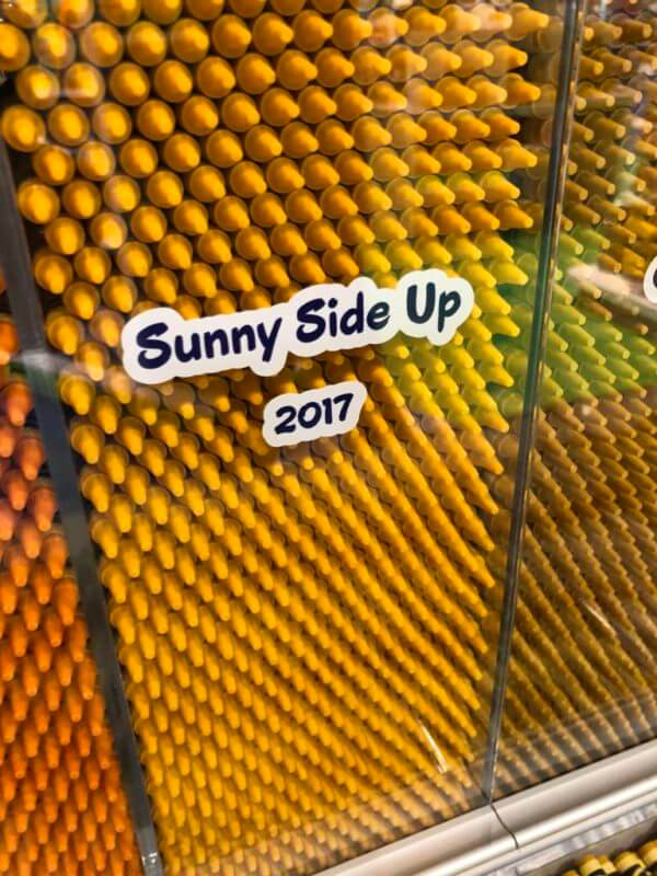 sunny side up crayon