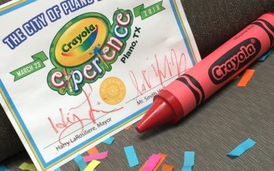 What age is best for the Crayola Experience in Plano, Texas?