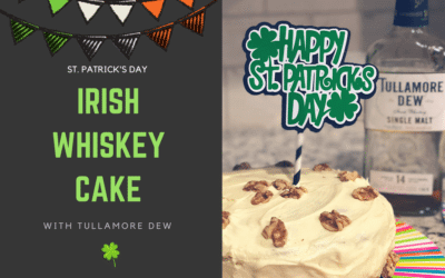 Tullamore Dew Irish Whiskey Cake