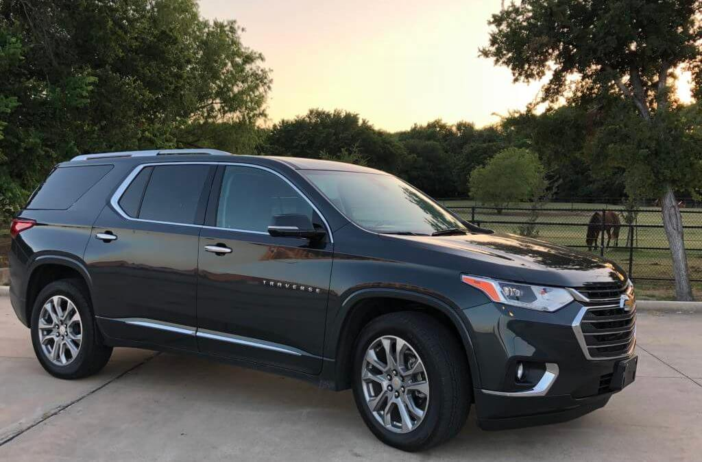 Driving the Chevy Traverse Premier