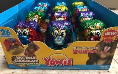 Learning is Fun and Yummy With Yowie's Chocolate Wildlife Conservation Series!