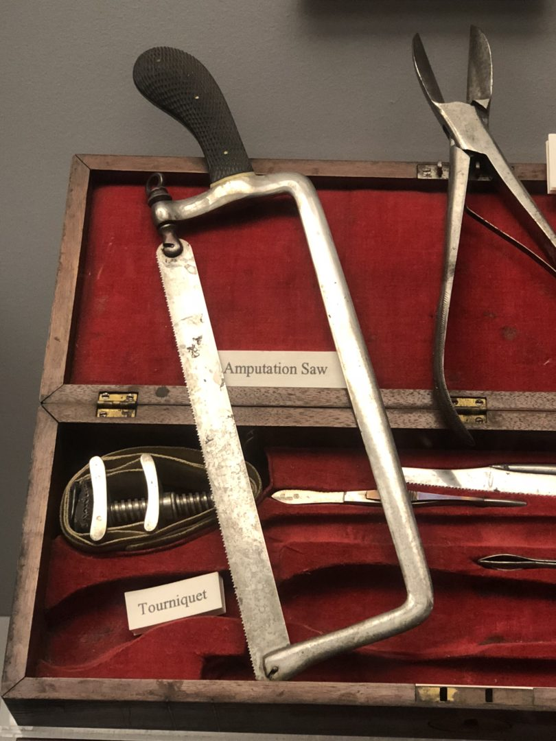 Texas Civil War Museum medical tools