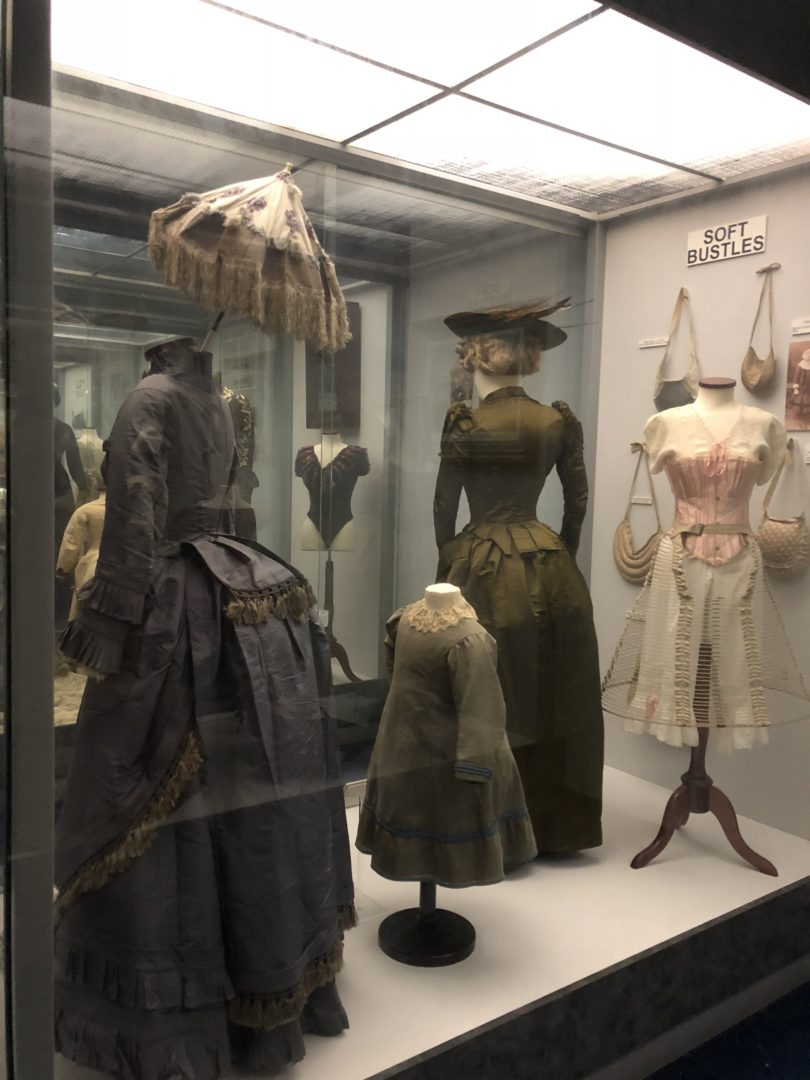 Texas Civil War Museum dress collection