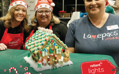 Reliant's 5th Annual Gingerbread House Decorating Challenge for Charity