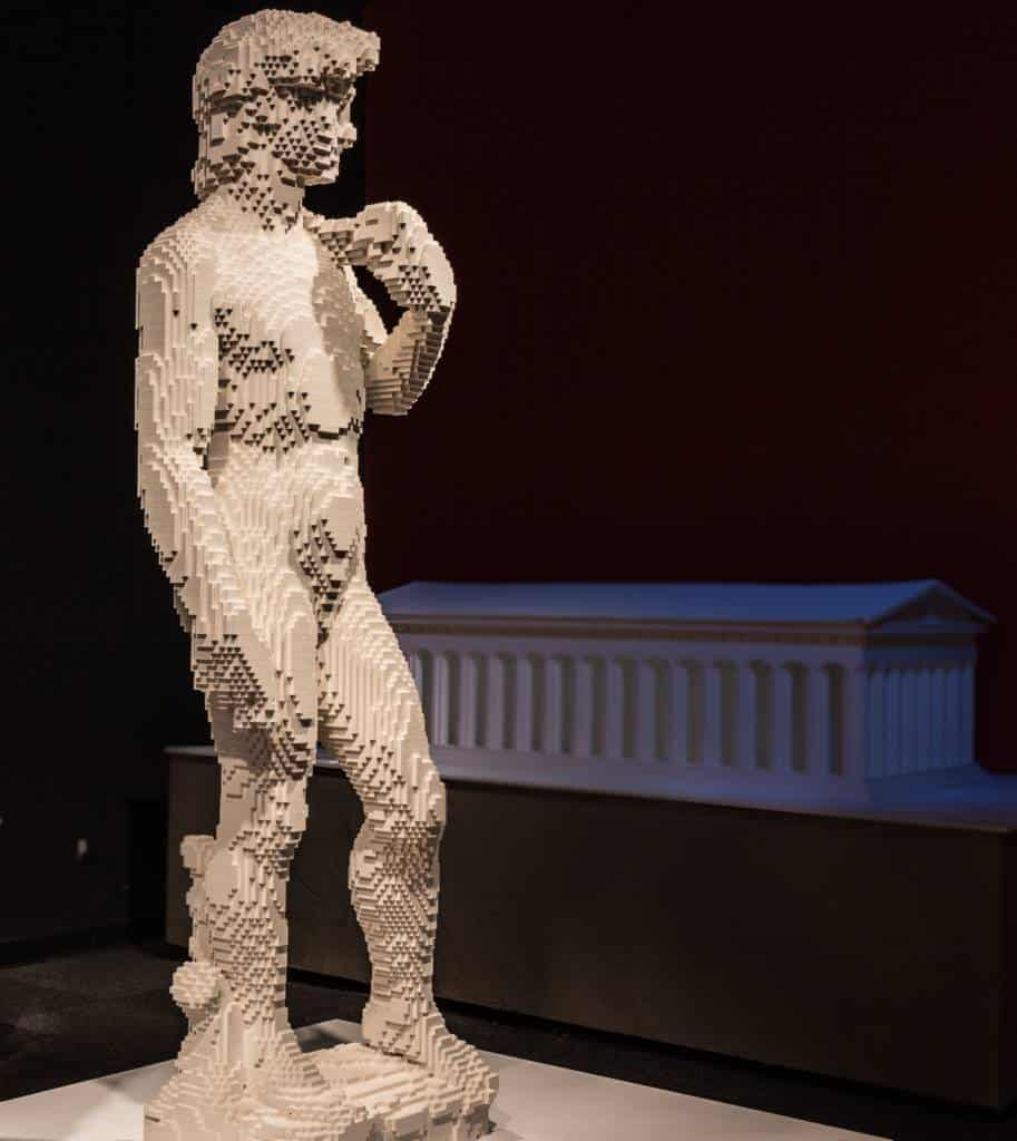 David Lego - The Art of the Brick
