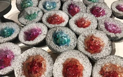 How to make Valentine geodes