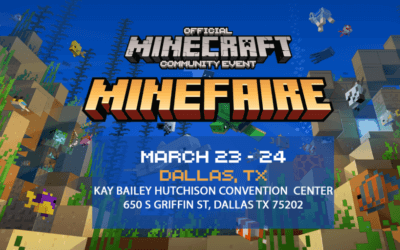 Minefaire: The #1 Minecraft Event is Coming to Dallas!