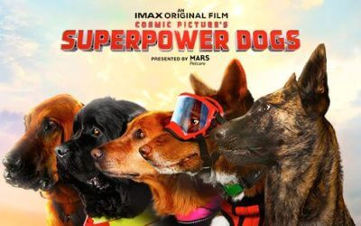 Superpower Dogs 3D at Perot Museum