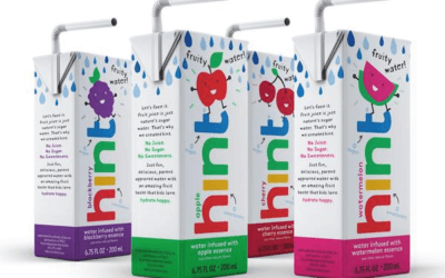 New flavors of hint water review