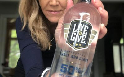Live to Give water supports those who serve