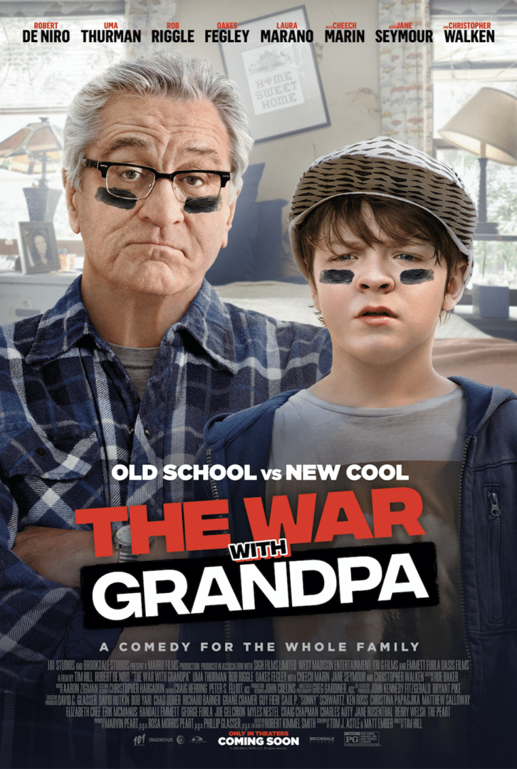 war with grandpa movie poster
