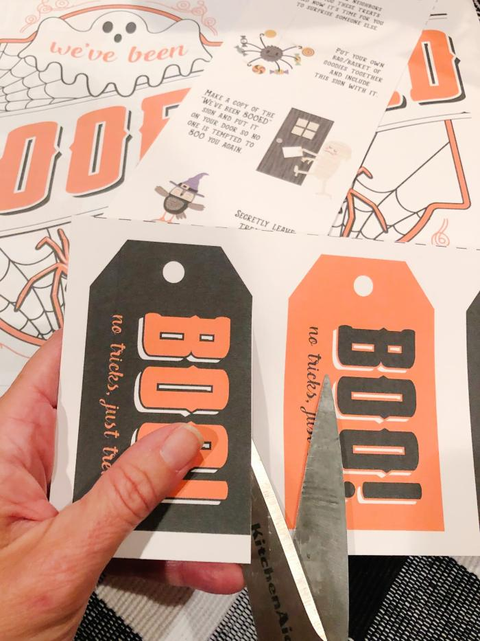Halloween printables : You'v Been BOO'd Tags