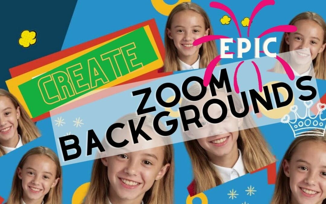 HOW TO CREATE EPIC ZOOM BACKGROUNDS