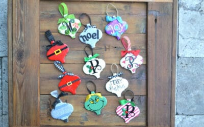 Make Your Own Lantern Tile Christmas Ornaments