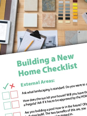 Home Build Sidebar