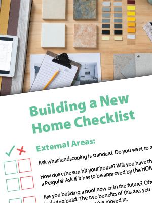 Home Build Sidebar