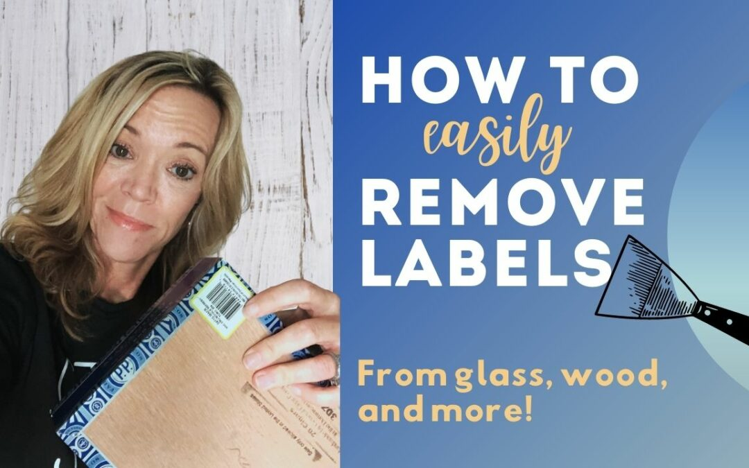 How to Remove Stickers and Labels (from anything!)