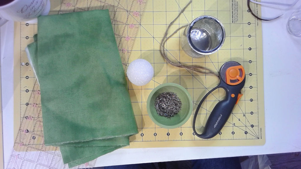 materials to make fabric succulents