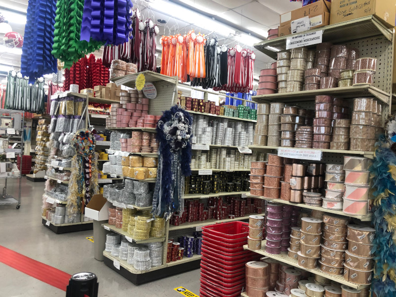 Large collection of Texas Homecoming Mum supplies