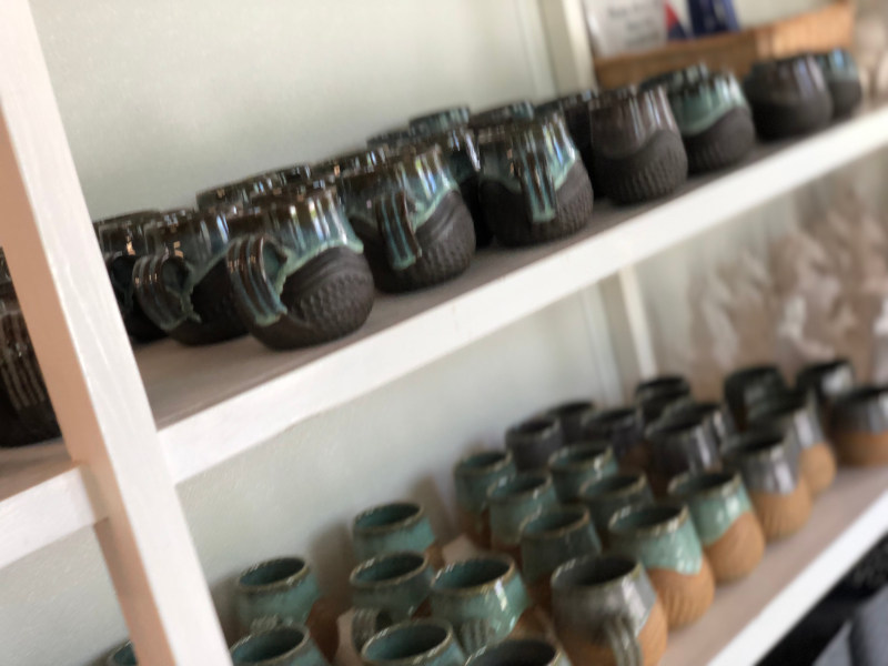 All the pottery